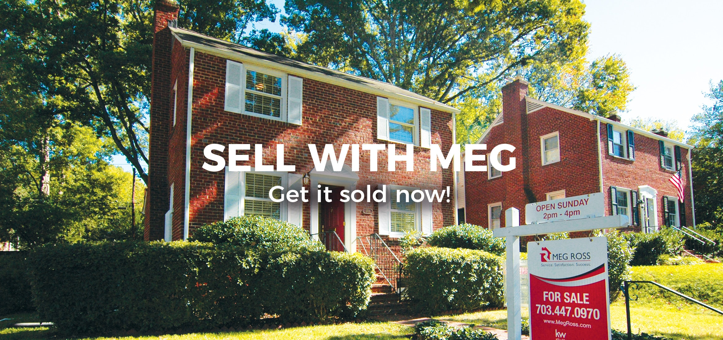 Sell homes in Arlington Virginia with best real estate agent Meg Ross