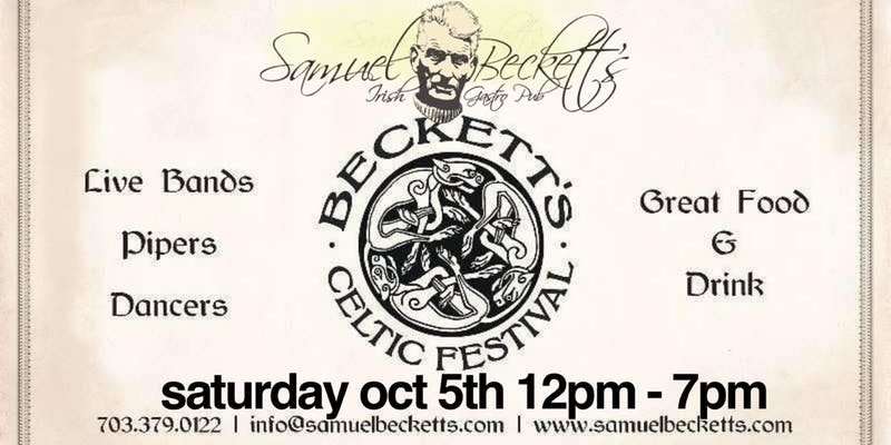 Beckett's 6th annual Celtic Festival